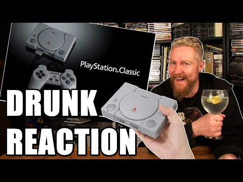 PLAYSTATION CLASSIC MINI REACTION - Happy Console Gamer