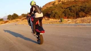 7. Sv650 wheelie