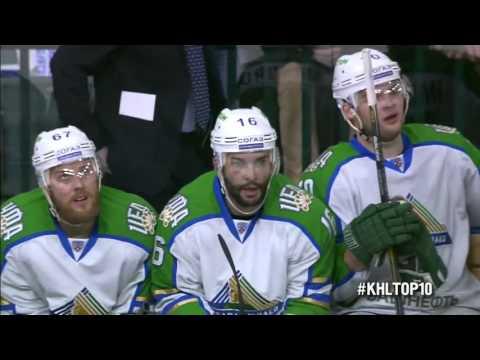 KHL Top 10 Goals for Week 15 / Лучшие голы 15-й недели КХЛ (видео)