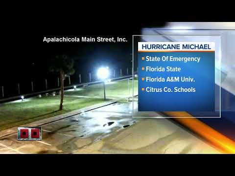 School closings due to Hurricane Michael