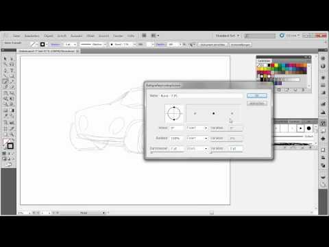 Pfade zeichnen – Adobe Illustrator CS5