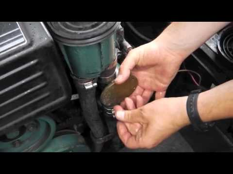 Volvo KAD32 Impeller Change