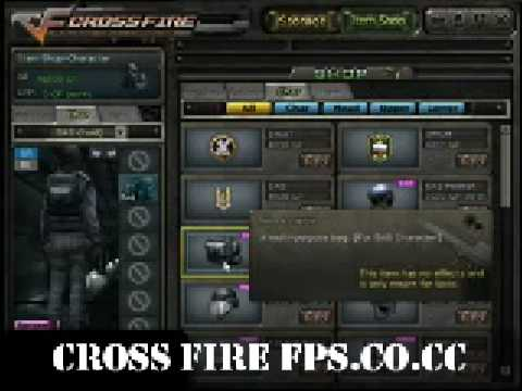 Best Free Online FPS: Cross Fire - Interface Video