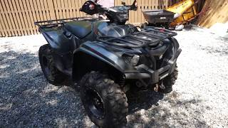 8. Yamaha Kodiak 700 Review