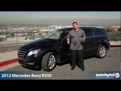 2012 Mercedes Benz R350: Video Road Test and Review