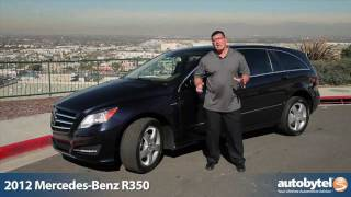 2012 Mercedes-Benz R-Class Test Drive&Luxury Car Review