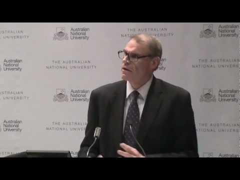 Stolze Vergangenheit, Zukunft? - Senator John Faulkner: Annual Lecture Archiv
