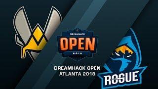 Rogue vs Vitality - DreamHack Open Atlanta 2018 - map2 - de_overpass [ceh9]