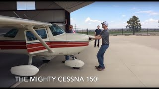 Flying a Cessna 150 from Colorado to Texas