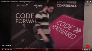 Code Forward 2016: Yearly conference IT branch