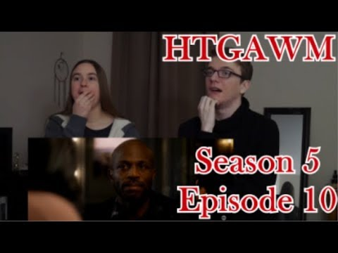 How To Get Away With Murder Season 5 Episode 10 - Don't Go Dark On Me - REACTION!!