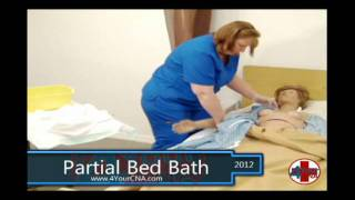 Partial Bed Bath CNA Skills
