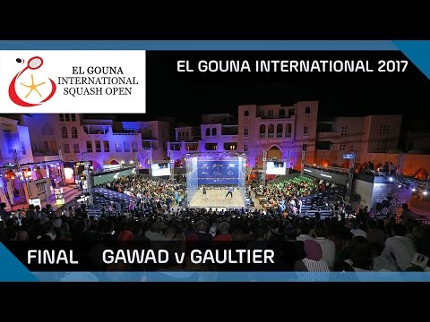 Squash: Gawad v Gaultier - El Gouna International 2017 Final Highlights