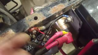 8. Polaris Sportsman Ricks Electric Solenoid Replacement