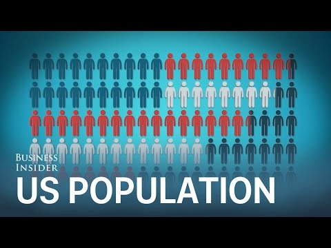 This animation puts the entire US population into perspective