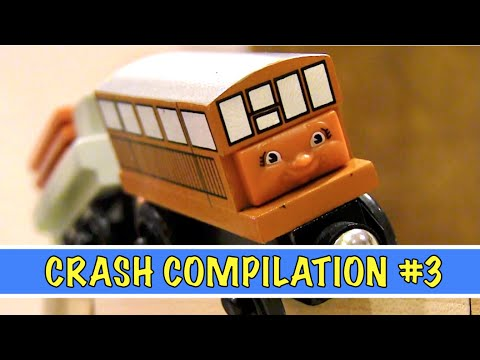 Seasons 11-15 Crash Compilation   Thomas & Friends Wooden Railway Adventures (Episodes 151-225)