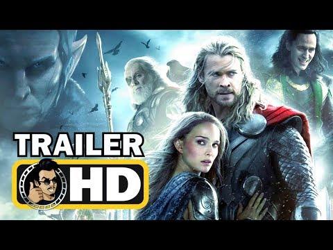 THOR 2: THE DARK WORLD (2013) Official Trailer #1 |FULL HD| Marvel Avengers Movie