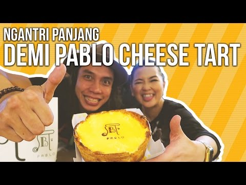 Pablo Cheese Tart   Ayo Makan   GERRY GIRIANZA ft. SABRINA ATHIKA