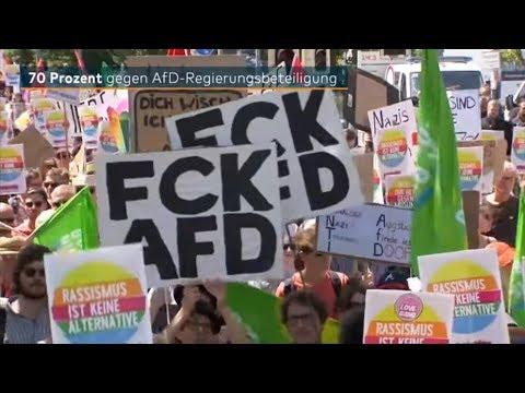 AfD: 70 Prozent der Bundesbürger wollen keine Regierungsbeteiligung