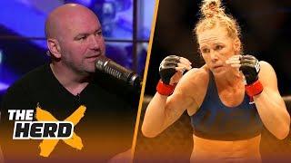 Video Dana White talks Holly Holm vs. Cyborg, what's next for McGregor and Floyd Mayweather | THE HERD MP3, 3GP, MP4, WEBM, AVI, FLV November 2018