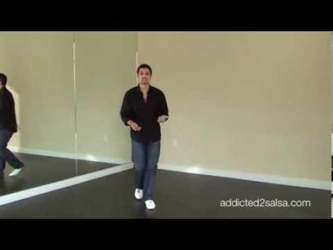 Сальса футворк(комбинация работы ног) урок для начинающих