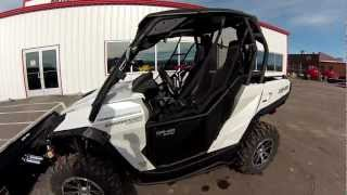 4. 2013 Canam Commander Limited with new accessories installed
