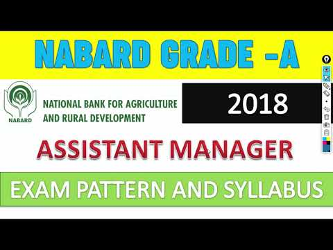 NABARD GRADE-A 2018 EXAM PATTERN AND SYLLABUS