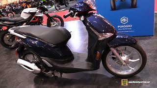 8. 2018 Piaggio Liberty 50 ABS Scooter - Walkaround - 2018 Toronto Motorcycle Show