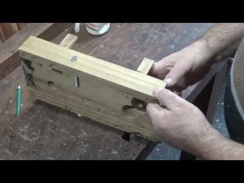 ¿Cómo hacer plantillas para uniones finger para ensamble de maderas?