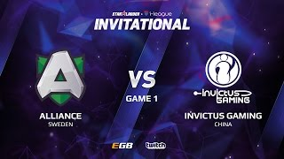 Alliance vs Invictus Gaming, Game 1, SL i-League Invitational S2 LAN-Final, Group A