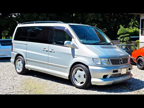 2000 Mercedes Benz V280 Viano Minivan (Canada Import) Japan Auction Purchase Review