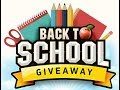 Back to school GIVEAWAY!! 😇😁 (OPIS)