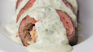 Surf and Turf Steak Roll Up • Tasty by Tasty