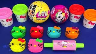 Video Making 3 Ice Cream out of Play Doh LOL Zuru 5 Surprise Toys PJ Masks Chupa Chups Surprise Eggs MP3, 3GP, MP4, WEBM, AVI, FLV Mei 2019