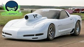 Worlds Fastest ALL MOTOR Corvette! by 1320Video