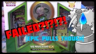 King Walreins Quickies! Venusaur Ex Blouch! FAILED! by Master Jigglypuff and Friends