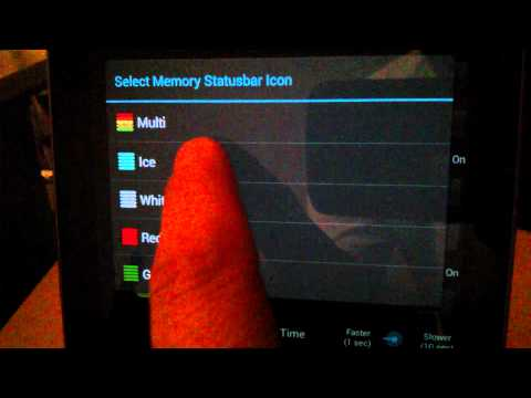 Video of Tablet CPU Usage Monitor