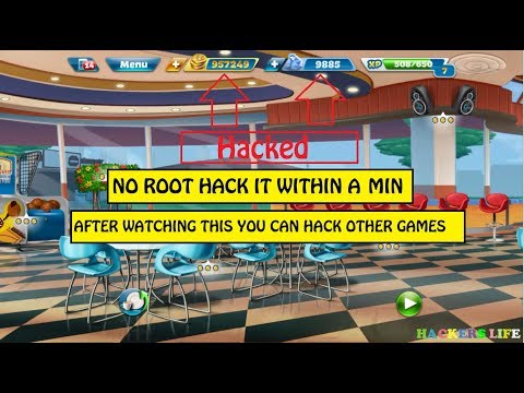 Hack Cooking Fever🎉 | Get Unlimited Gems, Coins And Unlock Every Level | 2017