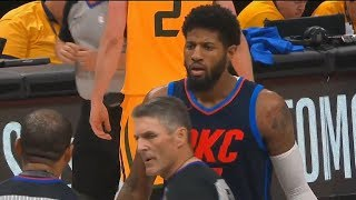 Video NBA Refs Rig The Thunder vs Jazz Game 6 With No-Calls After Paul George Gets Fouled Twice! MP3, 3GP, MP4, WEBM, AVI, FLV September 2018