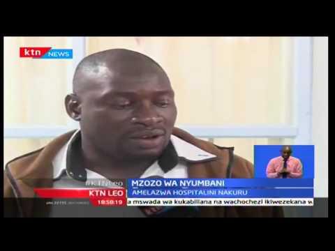 KTN Leo: Fredrick Ochieng' augua majeraha kutokana na mzozo wa nyumbani, 29/09/2016