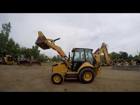 CATERPILLAR CHARGEUSES-PELLETEUSES 420FST equipment video mClZy649470