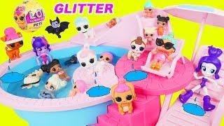 Video LOL Surprise Doll New Baby Pets Pool MP3, 3GP, MP4, WEBM, AVI, FLV Agustus 2018