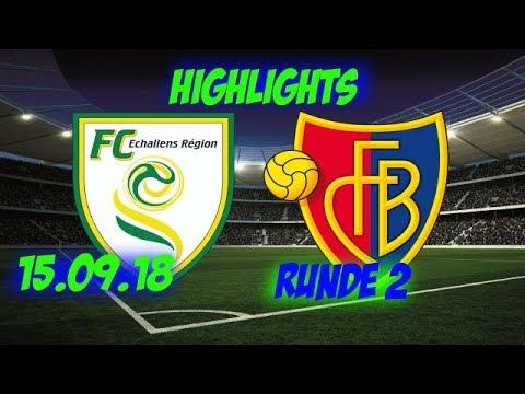FC Echallens 2-7 FC Basel