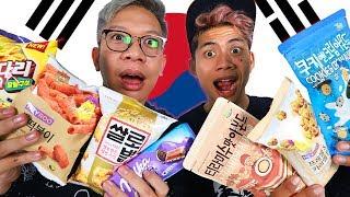 Video ANEH TAPI ENAKKK!! NYOBAIN SNACK KOREA ASLI!!! MP3, 3GP, MP4, WEBM, AVI, FLV Juli 2019