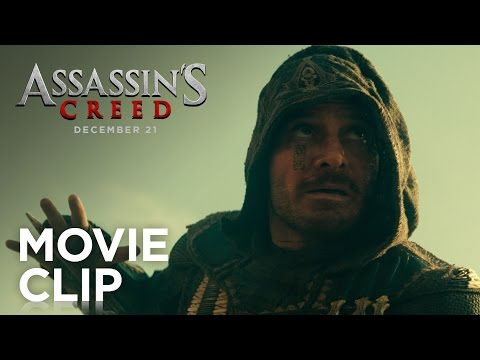 Watch Extended Assassin's Creed movie clip from The Game Awards