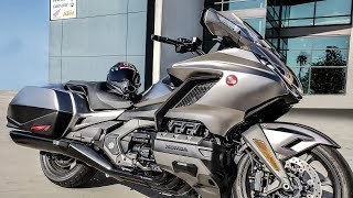 8. First Ride Review - 2018 Honda Goldwing - Very Nice!