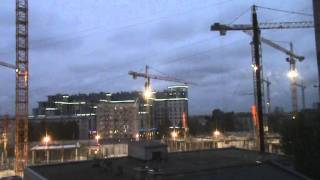 Day-Night TimeLapse Saint-Petersburg+building2