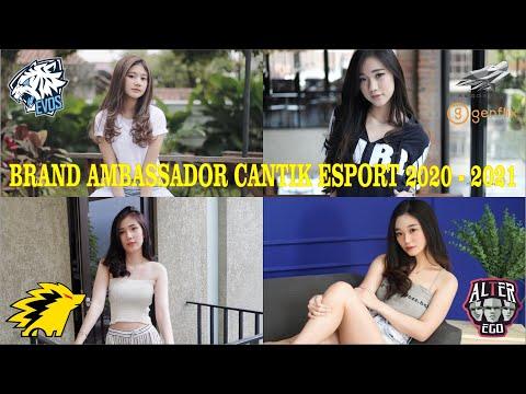 DERETAN BRAND AMBASSADOR CANTIK ESPORT INDONESIA 2020 - 2021, NOTNOT, CEYII, CHRISTY, LIVY RENATA
