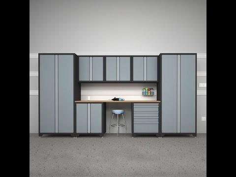 Furniture-Metal Garage Storage Cabinets
