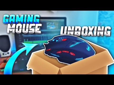 Unboxing my NEW Gaming Mouse! GREAT and CHEAP Gaming Mouse! (Zelotes t90 9200dpi 8) - JPlaysPE